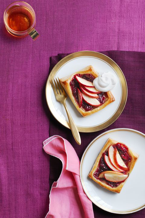 Tranbär Apple Tarts Thanksgiving Dessert