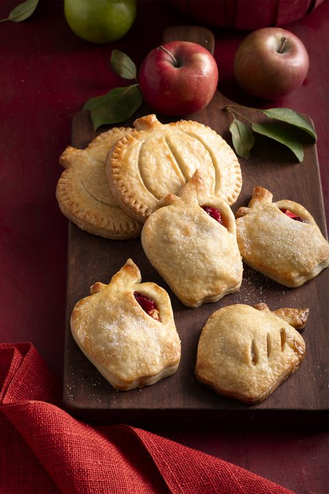 äpple and cranberry hand pies thanksgiving dessert