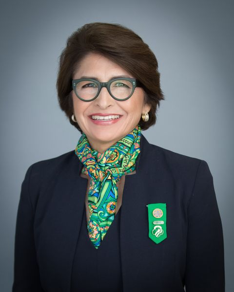 Porträtt of Girl Scouts of the USA CEO Sylvia Acevedo