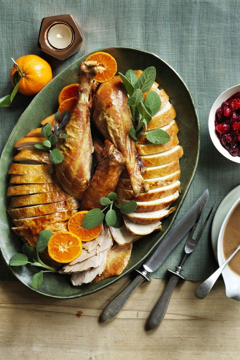 Саге and Orange Roast Turkey