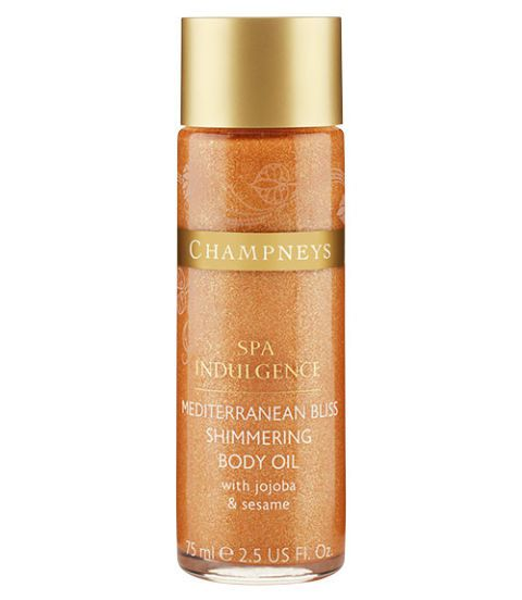 Šampionarji spa indulgence shimmering body oil