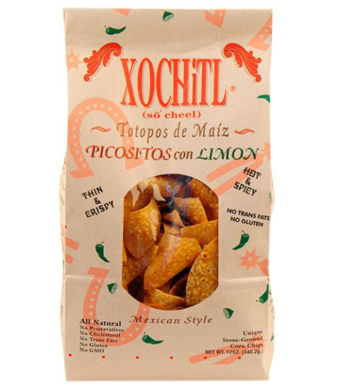 xochiti picositos con limon chips