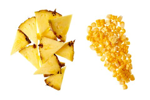 ananas and corn