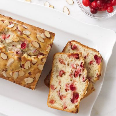 mandel cranberry quick bread