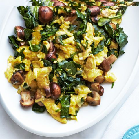 svamp spinach and swiss scramble
