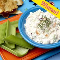 extra point shrimp and cucumber dip