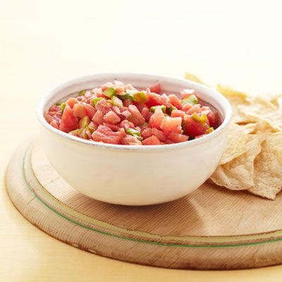 melon avocado salsa