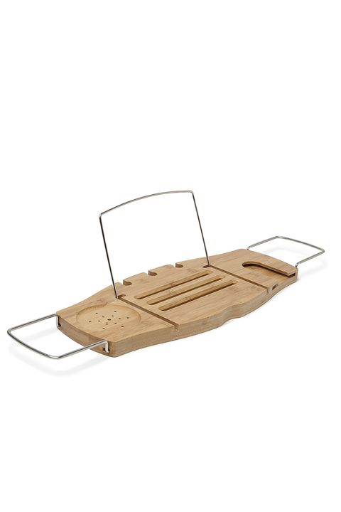 Umbra Aquala Bamboo and Chrome Bathtub Caddy Gift Ideas For Women
