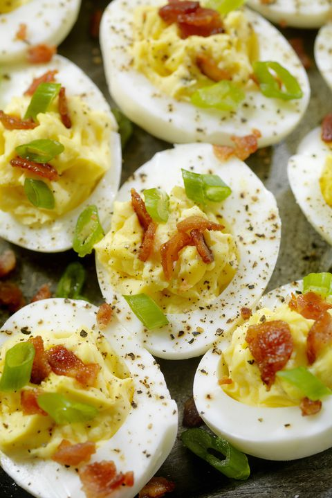 deviled eggs bacon recipe