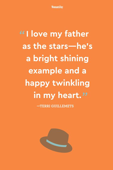 terri guillemets fathers day quote